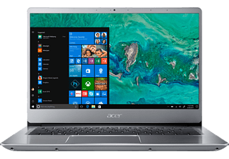 ACER Swift 3 (SF314-54-86SW), Notebook mit 14 Zoll Display, Core™ i7 Prozessor, 12 GB RAM, 128 GB SSD, 1 TB HDD, Intel® UHD-Grafik 620, Aluminium-Unibody / Silber